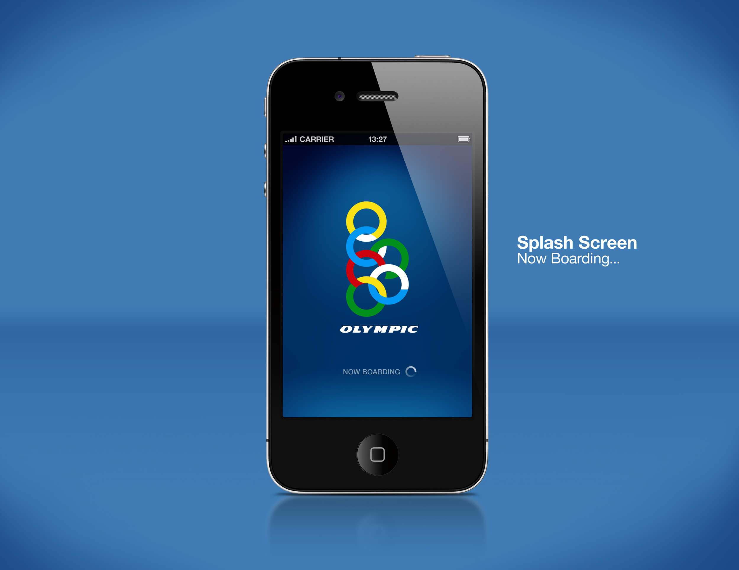 Airline Mobile App Splash Screen