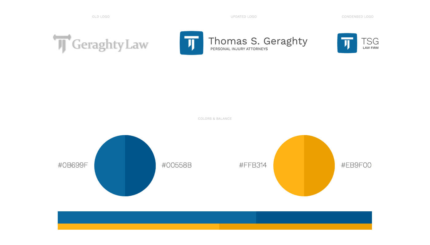 Thomas S. Geraghty Law Firm Redesign & Branding